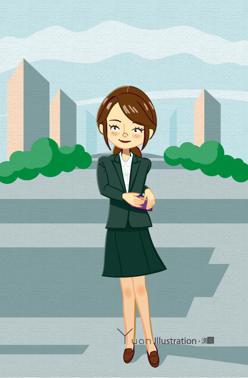 Title : Asian businesswoman in urban / 都会で働く女性 Credit : Yuan Date : Mar 2015 art : Disital