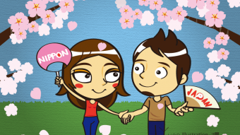 Title : Seeing the cherry blossoms / お花見 Credit : Yuan Date : March 2015