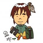 Meguro mita / 三田巡朗キャラクター