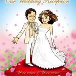 Happy wedding! / 二人の未来を祝福して